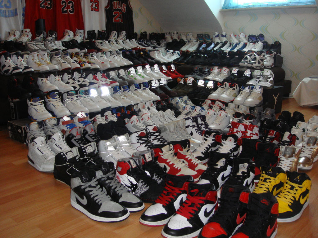 jordan shoe collection